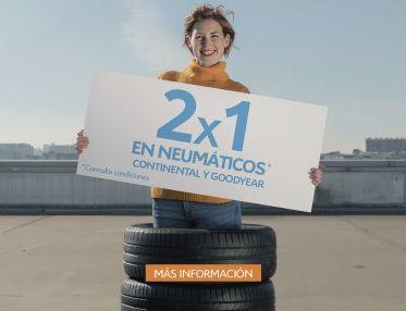 ESTE MES APROVECHA EL 2x1 EN CAMBIO DE NEUMATICOS