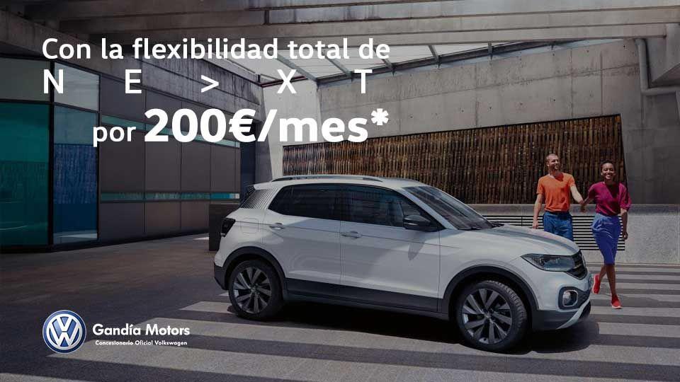 Nuevo T-Cross, tu SUV urbano por 200€/mes