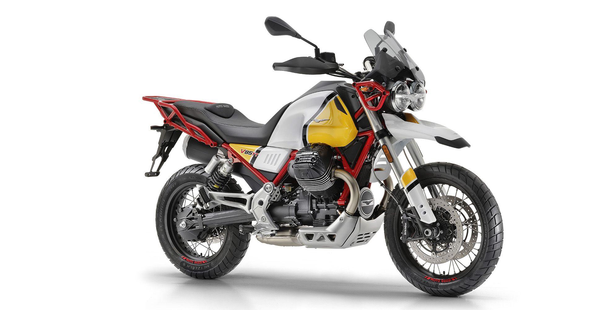 Las primeras unidades de la esperada Moto Guzzi V85 TT ya se encuentran de camnio a Canarias