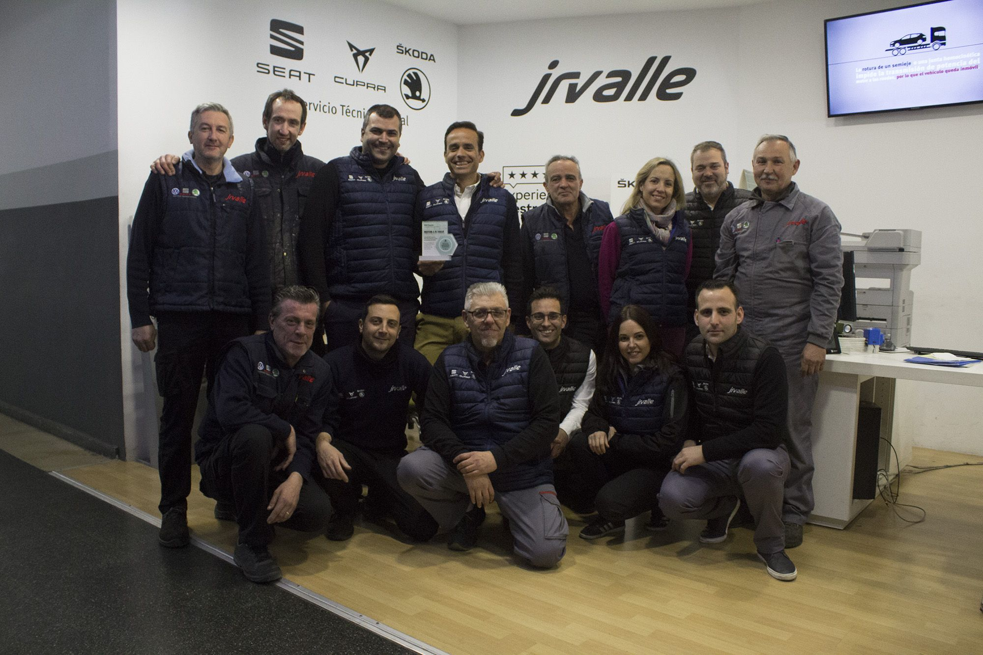 El Servicio Oficial Posventa SEAT de J.R. Valle, reconocido como uno de los mejores de España en 2018