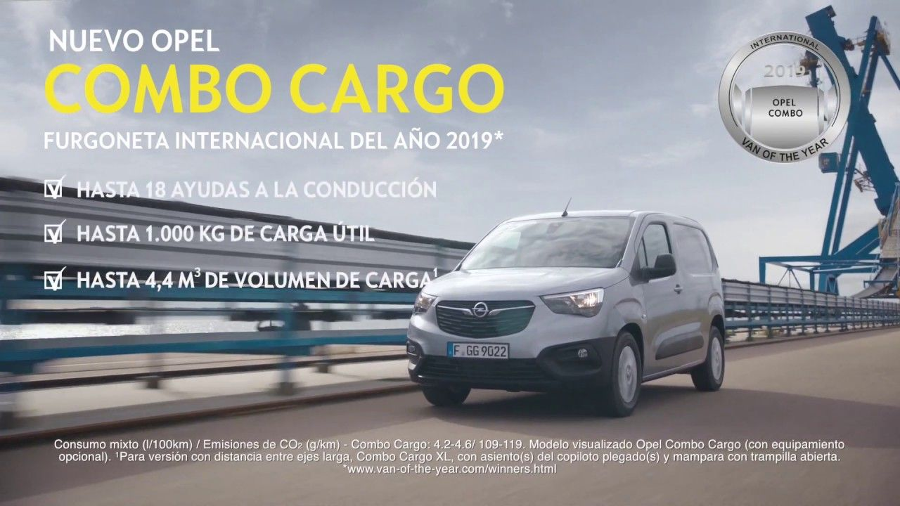 "El nuevo Opel Combo elegido ""International Van of The Year"" 2019"