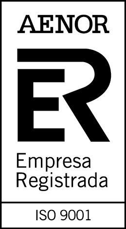 Certificado AENOR norma ISO 9001