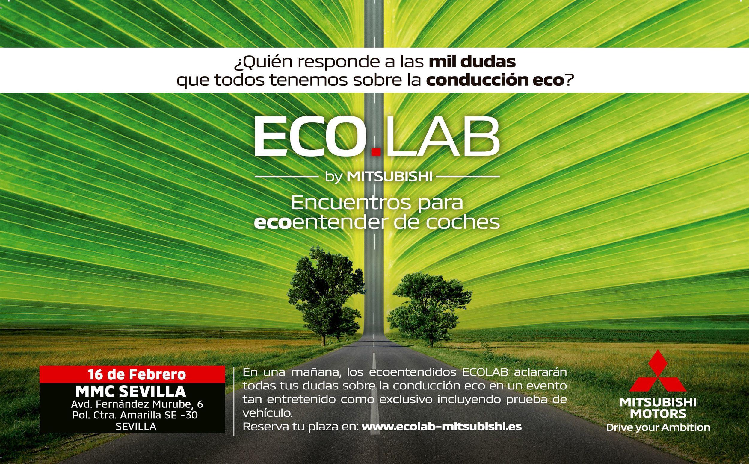 Mitsubishi Motors llega a Sevilla con EcoLab, un espacio para Ecoentender