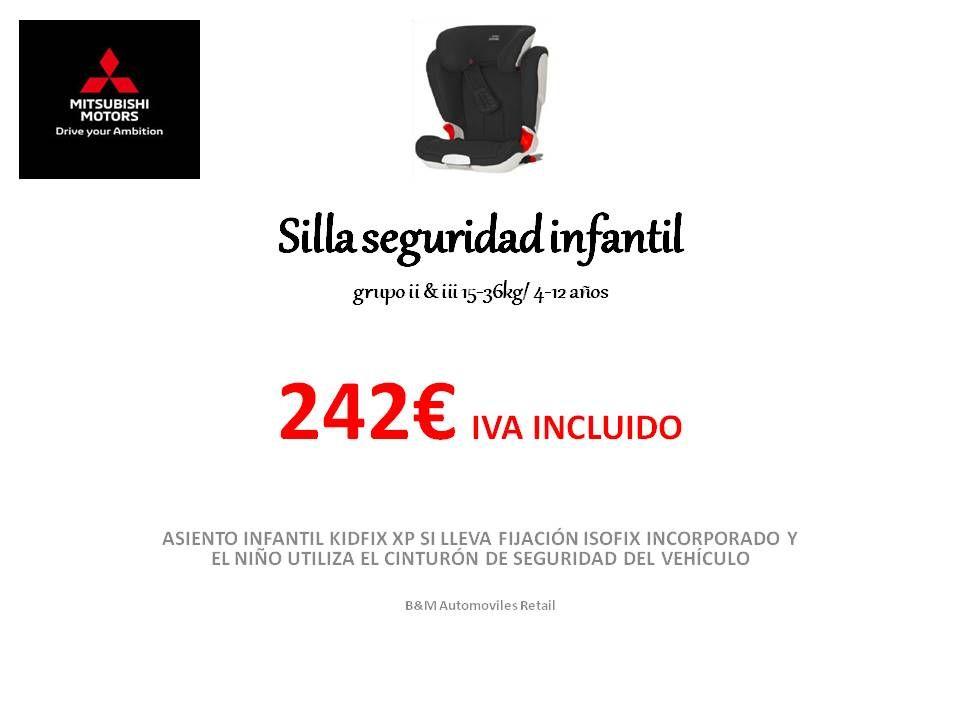 SILLA SEGURIDAD INFANTIL -GRUPO 2 Y 3-