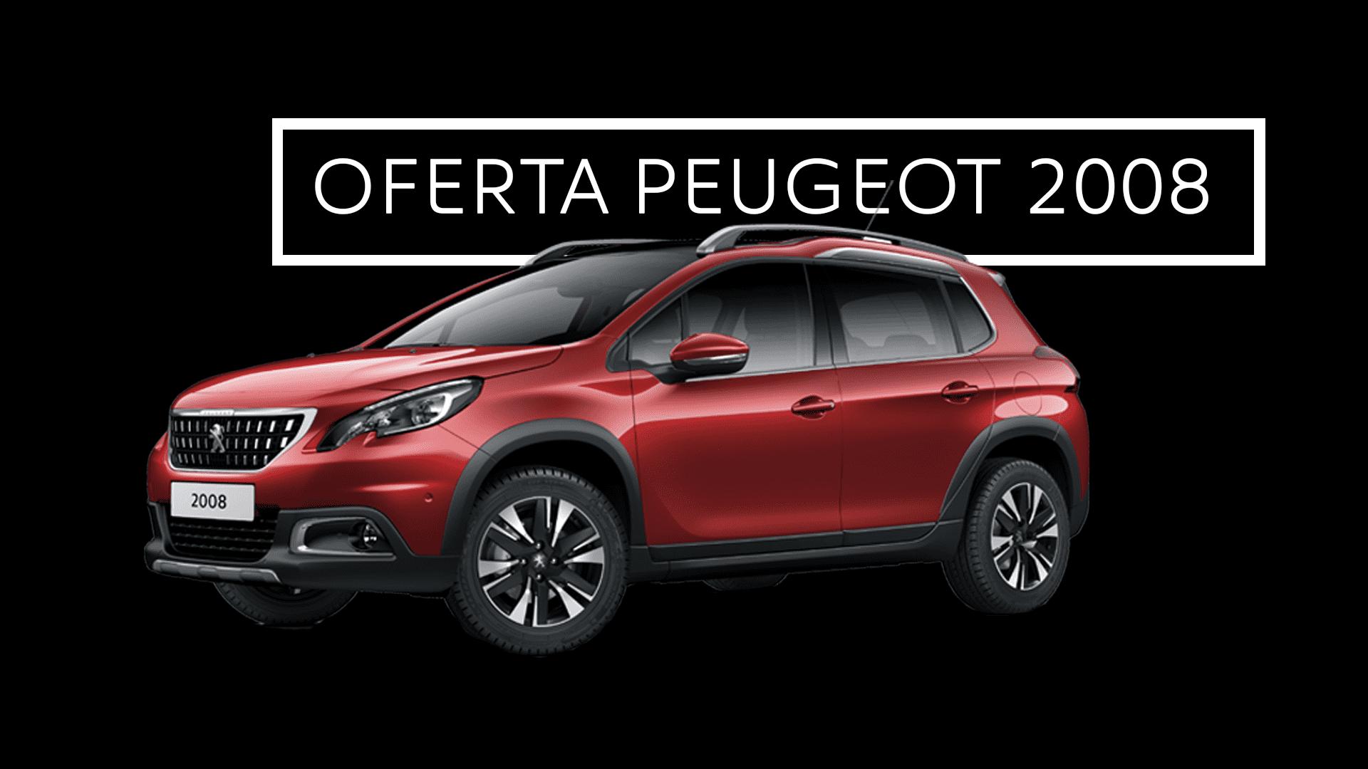 Estrena un Peugeot 2008 Allure con cámara, navegador y cristales tintados por 166€/mes
