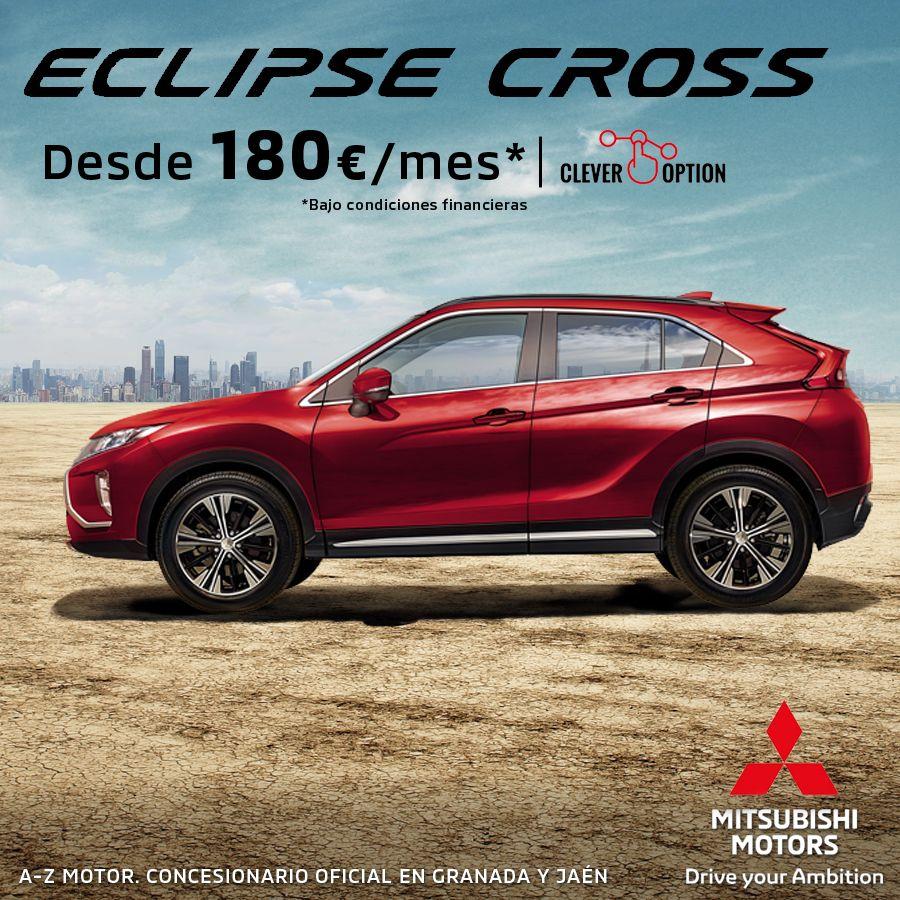 Mitusbishi Eclipse Cross desde 180€/mes