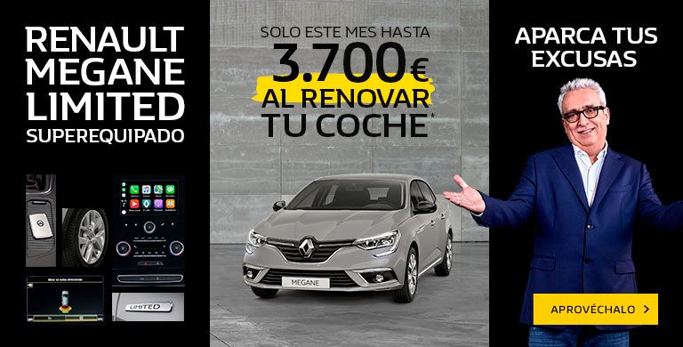 Renault MEGANE LIMITED hasta 28/02/2019