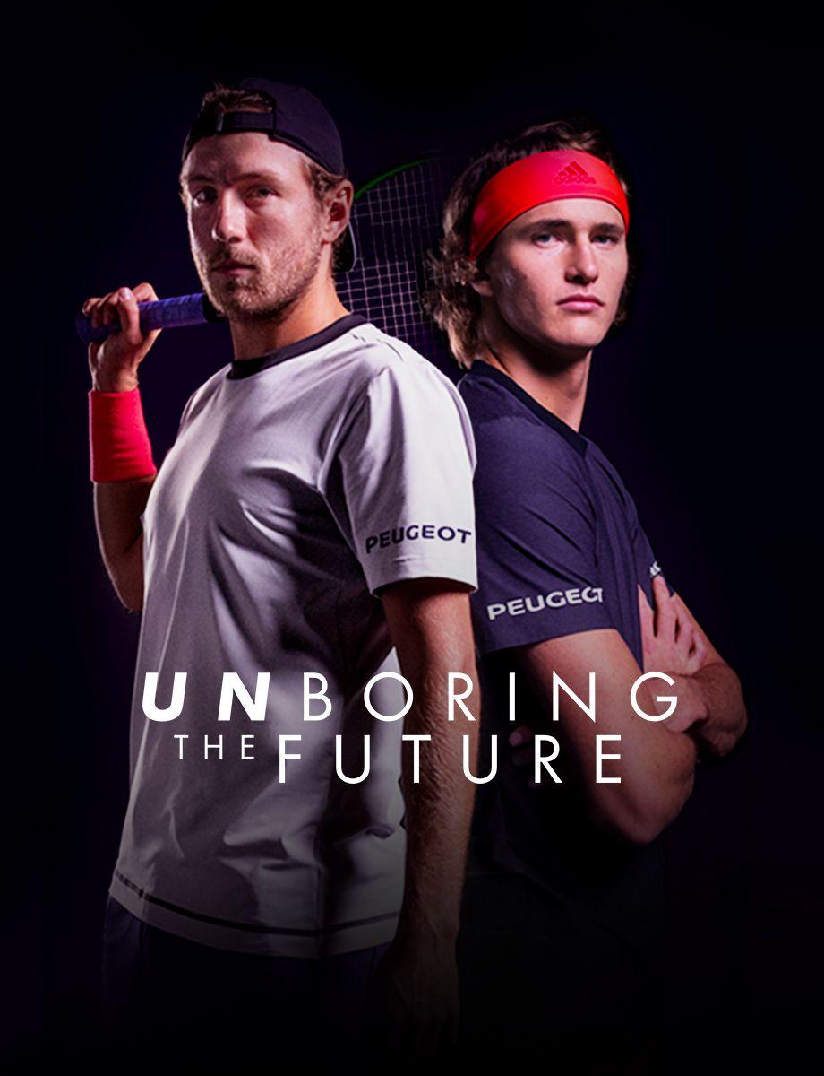 El tenis y la electricidad se dan la mano en la nueva campaña de comunicación de Peugeot