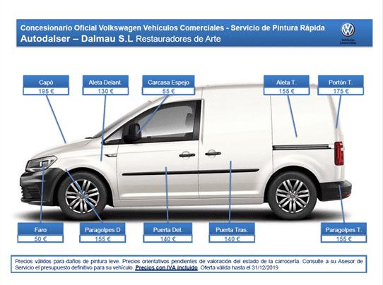 Nuevas ofertas para la carrocería de tu VOLKSWAGEN, podrás encontrarlas en Autodalser-Dalmau concesionario oficial VOLKSWAGEN Lleida.