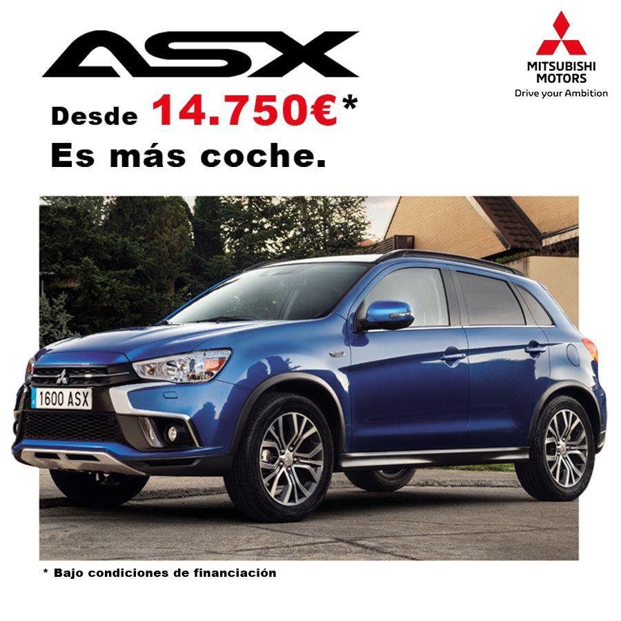 ASX gasolina desde 14.750€