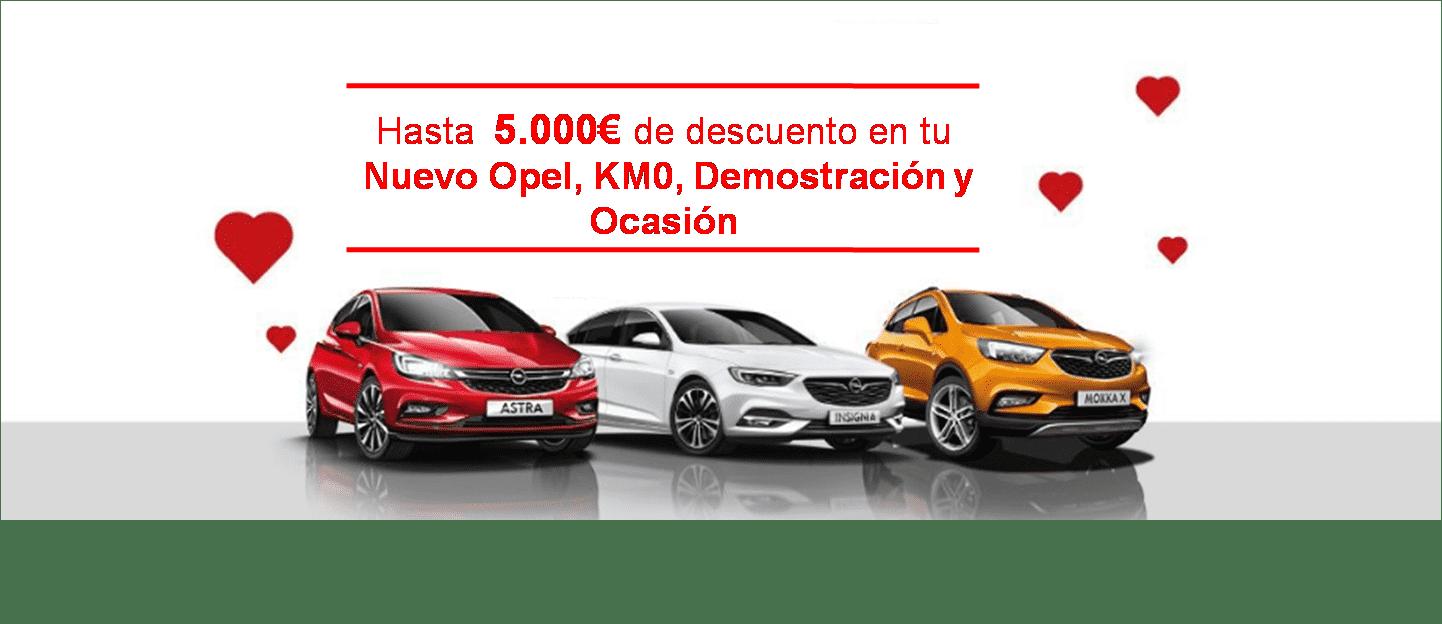 Regalaun Opel con hasta 5.000€ de descuento