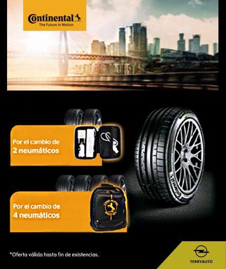 Cambia de neumáticos con regalo incluido