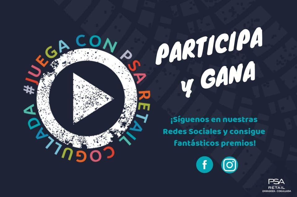 ¡CONCURSO #JUEGACON PSARETAILCOGULLADA EN NUESTRAS REDES SOCIALES!