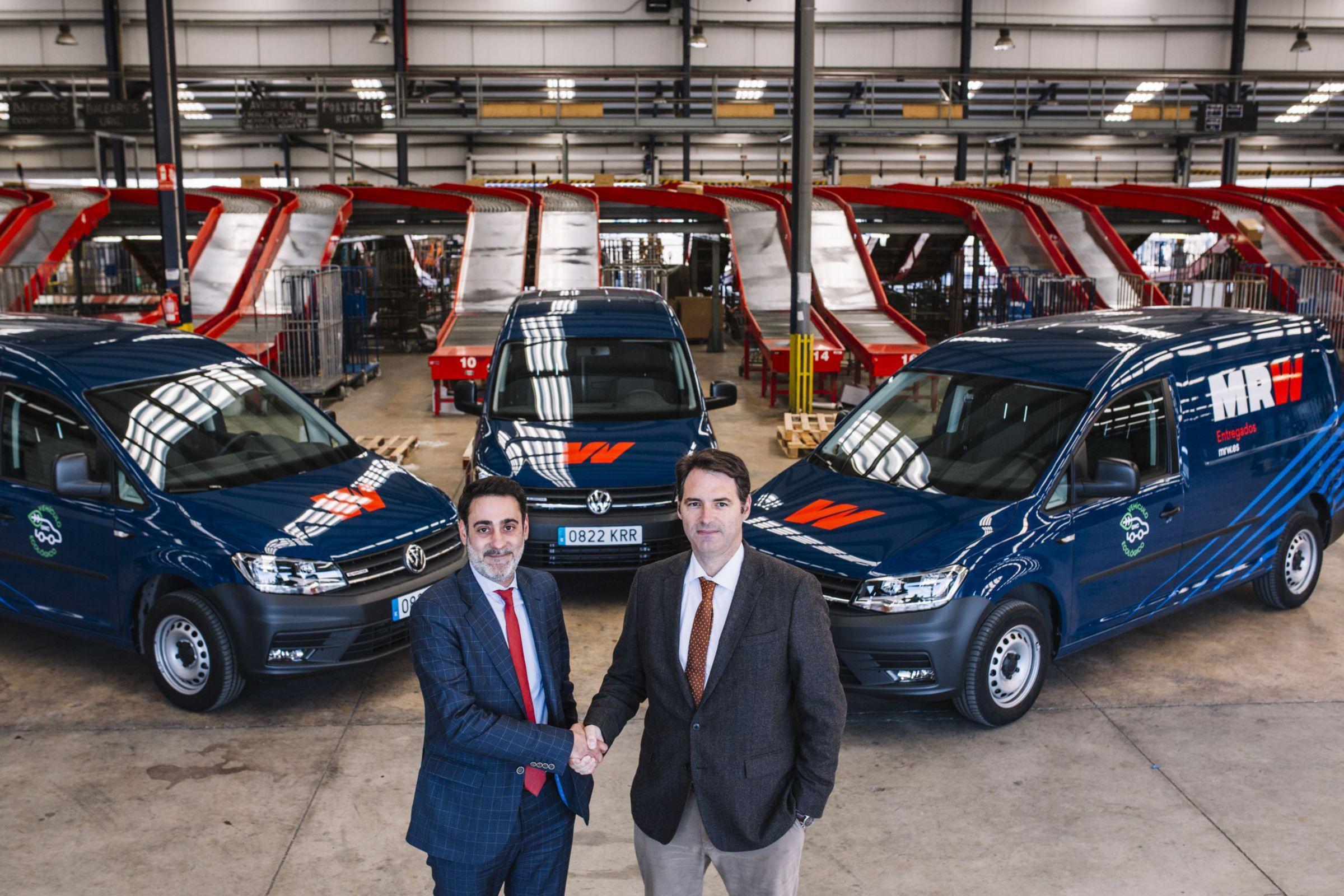 Volkswagen Vehículos Comerciales y MRW unidos por la Sostenibilidad