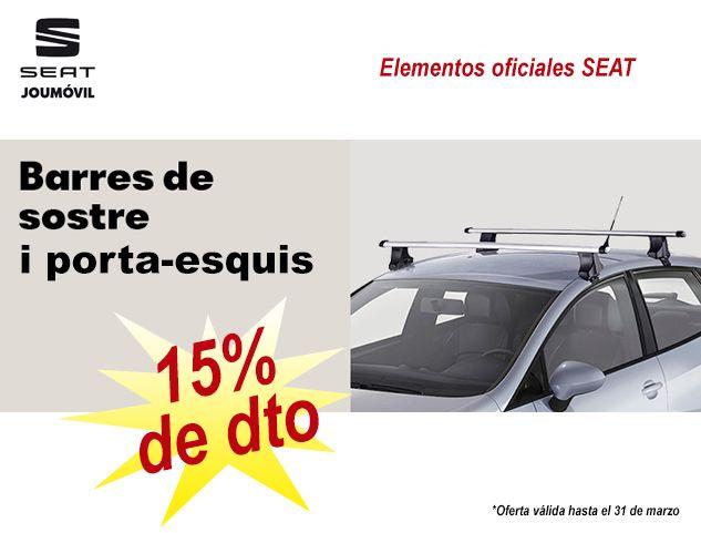SEAT: 15% DE DTO EN BARRAS PORTANTES Y PORTA ESQUIS!