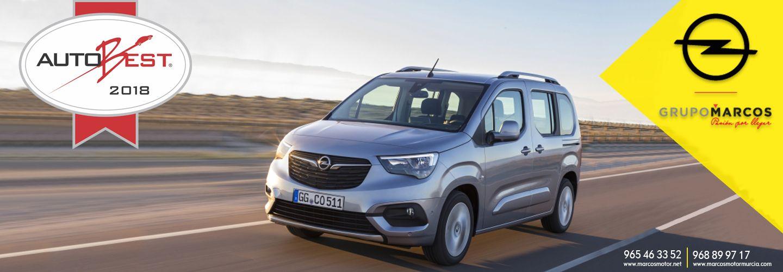 "Opel Combo Life la ""Mejor compra de coche en Europa 2019"""