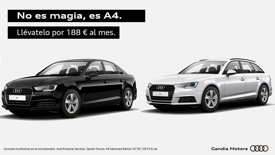 No es magia, es A4 por solo 188 €/mes