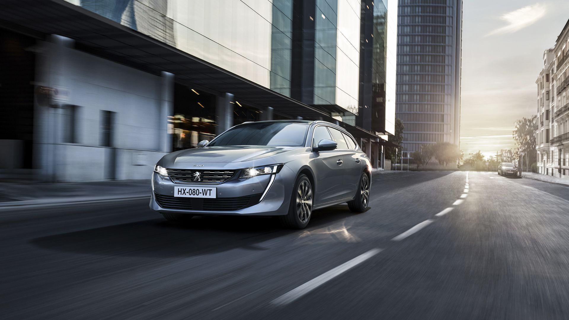 Nuevo Peugeot 508SW, el vehículo familiar de alta gama