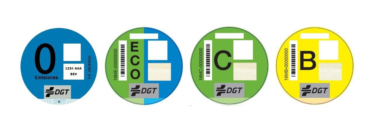 ¿Qué diferencia hay entre los distintivos ambientales creados por la DGT?