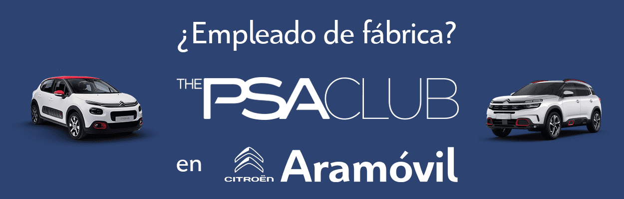 EMPLEADO DE FABRICA, THE PSA CLUB EN CITROEN ARAMOVIL