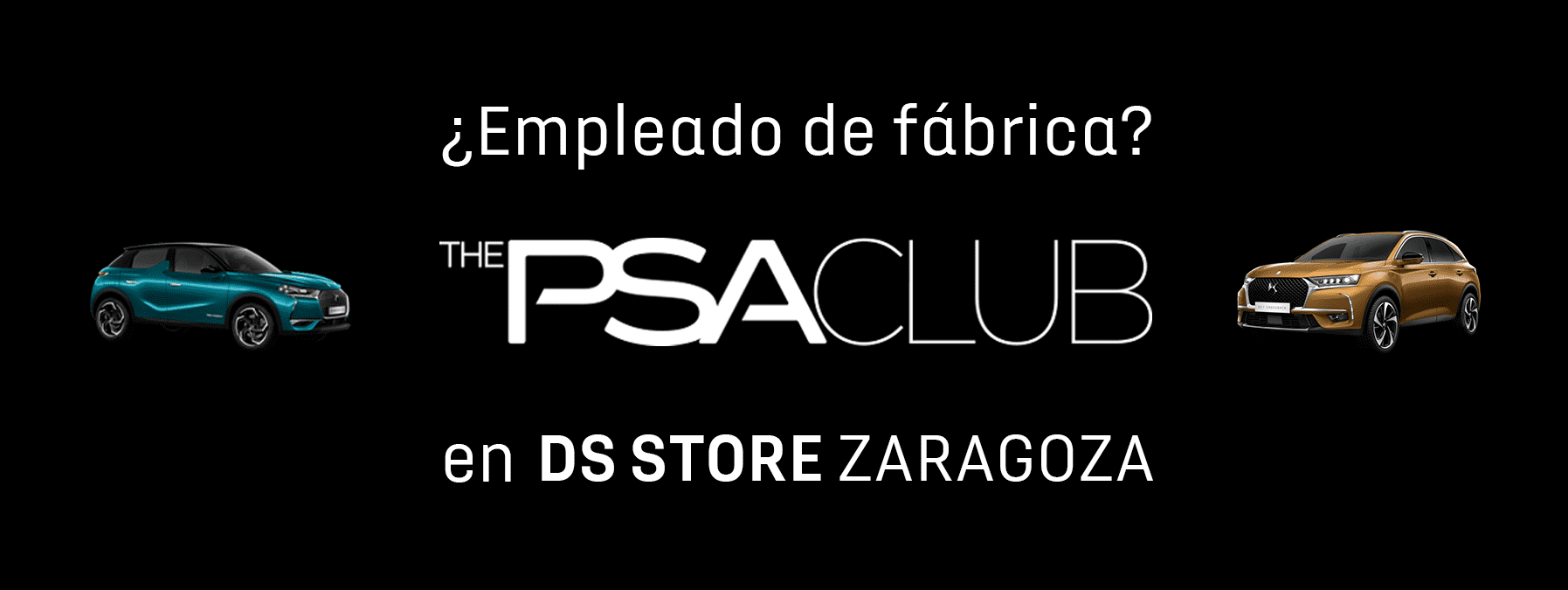 EMPLEADO DE FABRICA, ELIGE DS EN ZARAGOZA