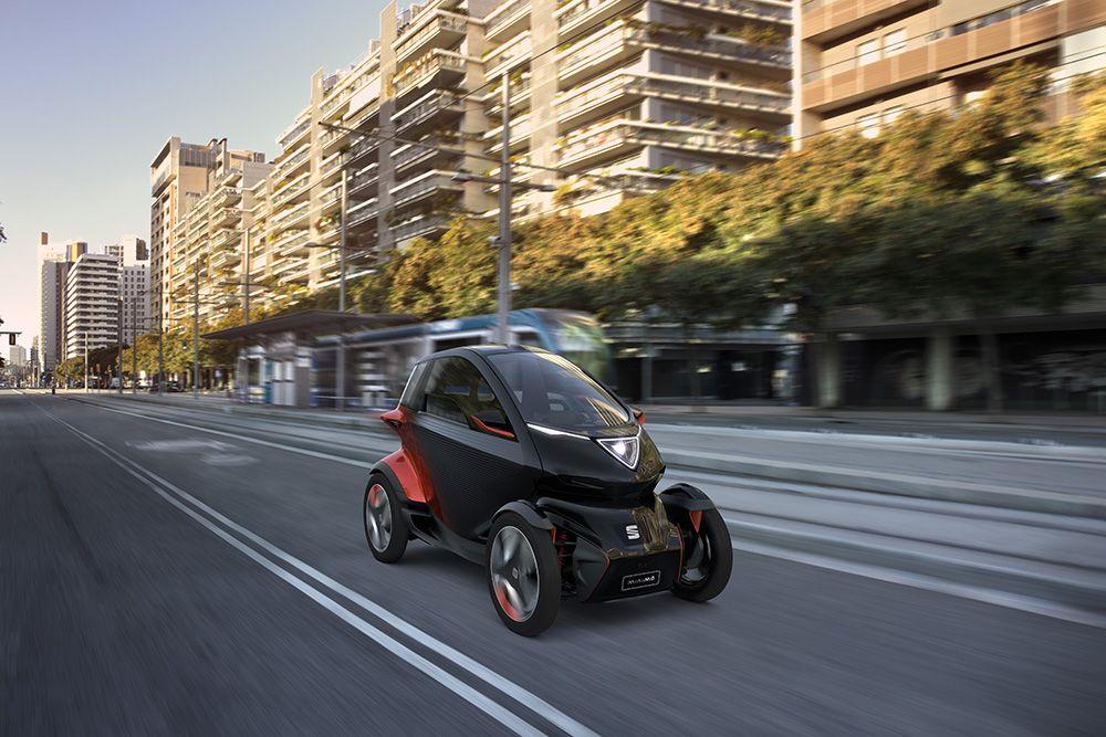 SEAT Minimó: la movilidad urbana de SEAT se adelanta al futuro en el MWC 2019