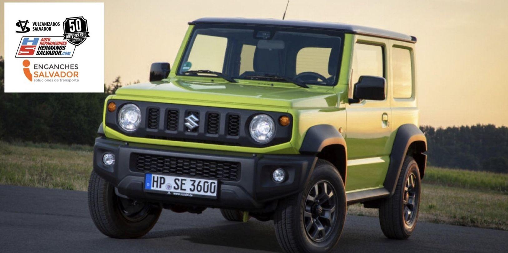Nuevos enganches para Suzuki Jimny , enganches Salvador en Basauri Vizcaya