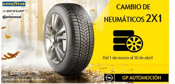CAMPAÑA NEUMÁTICOS 2X1