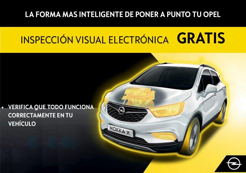 INSPECCIÓN VISUAL ELECTRÓNICA GRATUITA