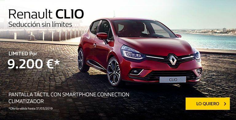 Renault CLIO hasta 31/03/2019