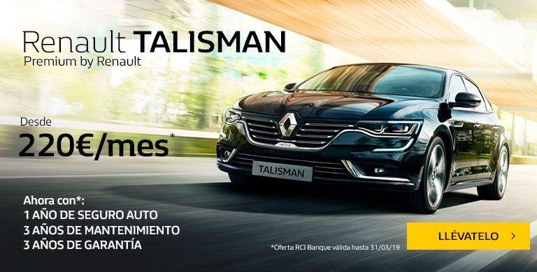 Renault TALISMAN LIMITED hasta 31/03/2019