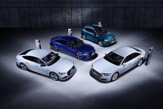 "Llegan los ""TFSI e"" de Audi, modelos híbridos enchufables"