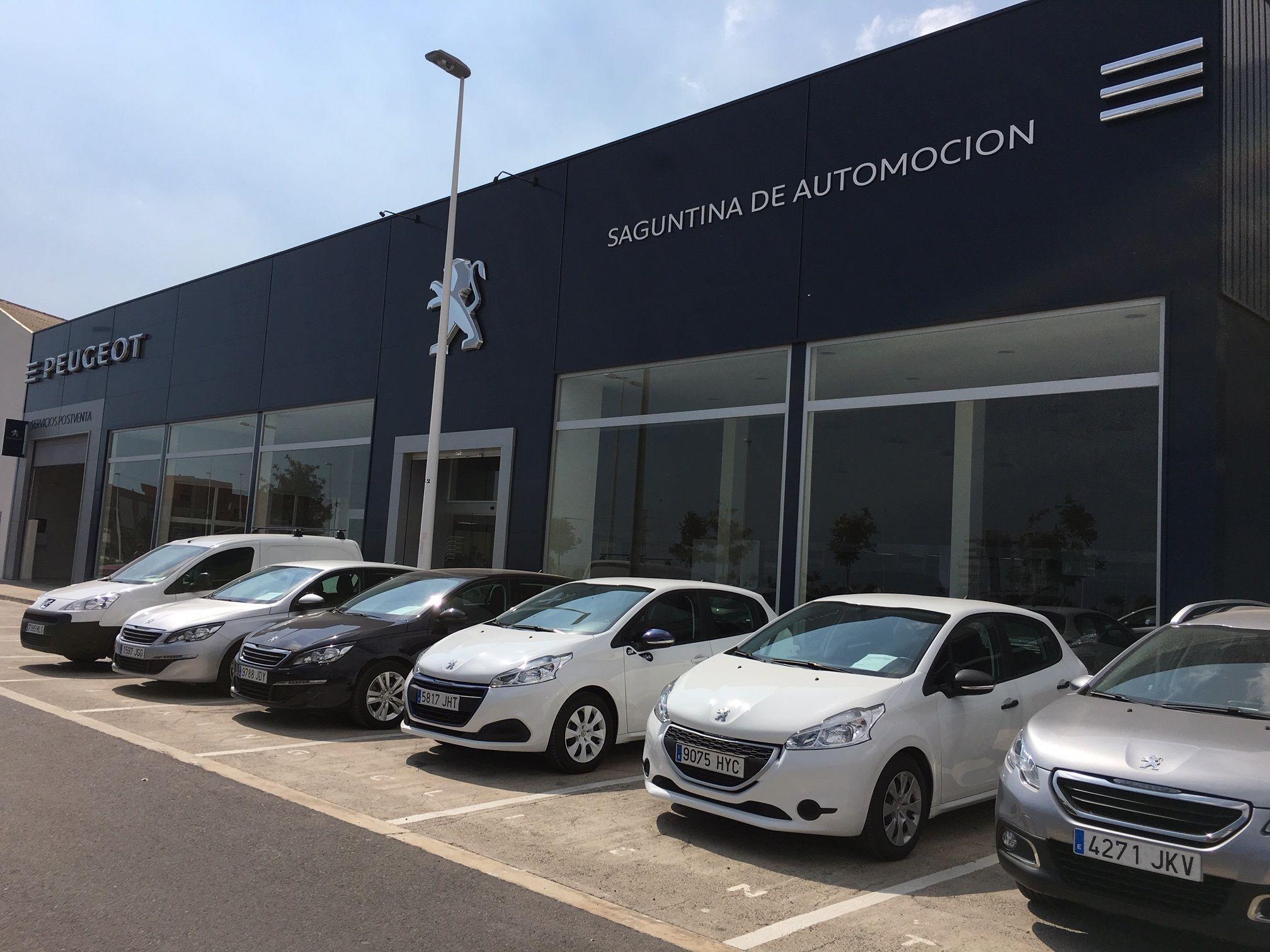 Saguntina De Automoción, Concesionario Peugeot En Sagunto
