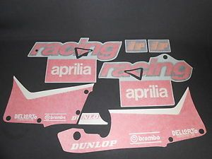 KIT PEGATINAS CARENADO APRILIA RS50