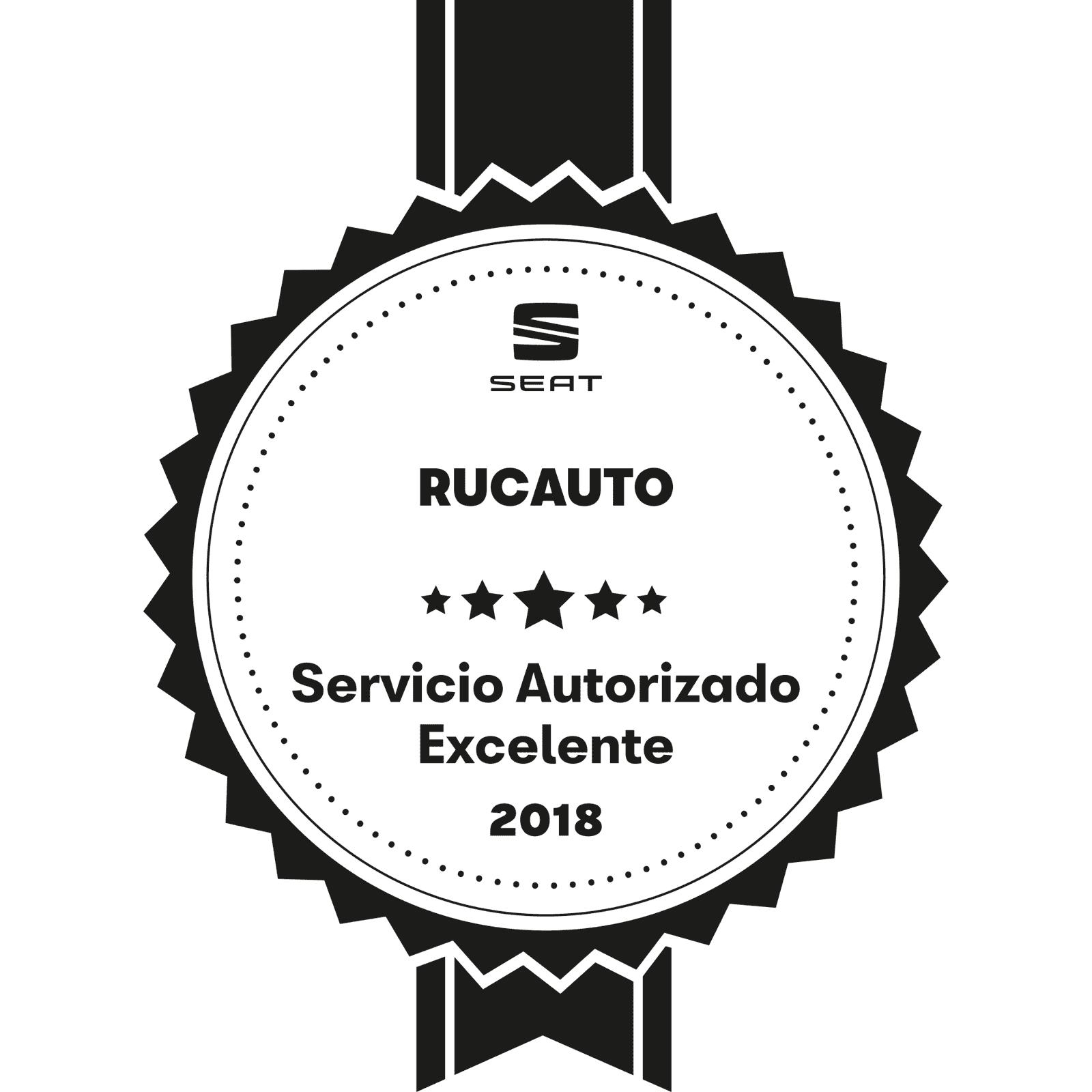 Rucauto, Premio a la Excelencia en la Gestión de la Posventa y Satisfacción al Cliente 2018