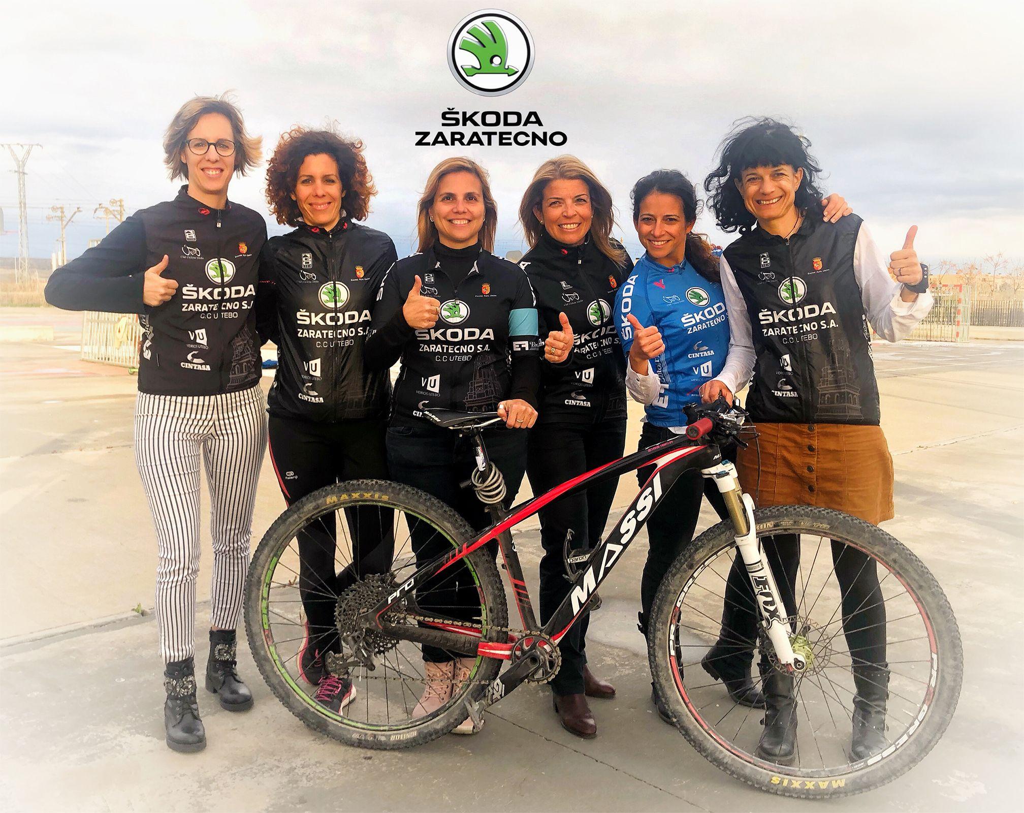 Skoda Zaratecno apoya el ciclismo femenino el Día Internacional de la Mujer