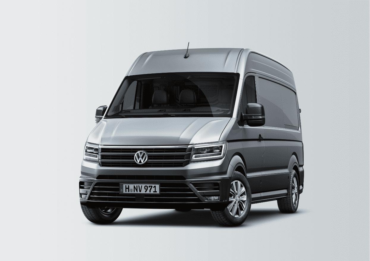 Volkswagen Crafter 140 CV por 295€/mes + IVA