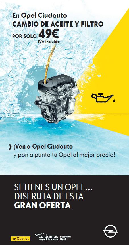 Promoción Posventa Opel