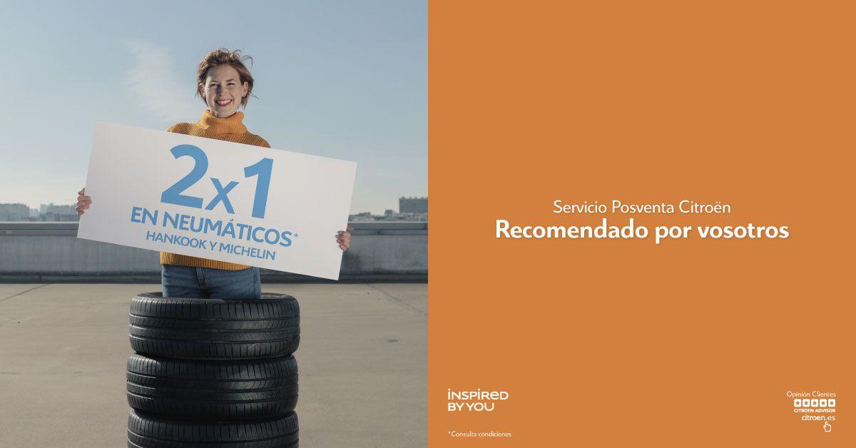 2x1 neumáticos