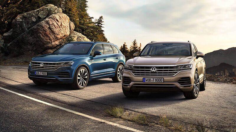 Volkswagen Touareg por 583€/mes
