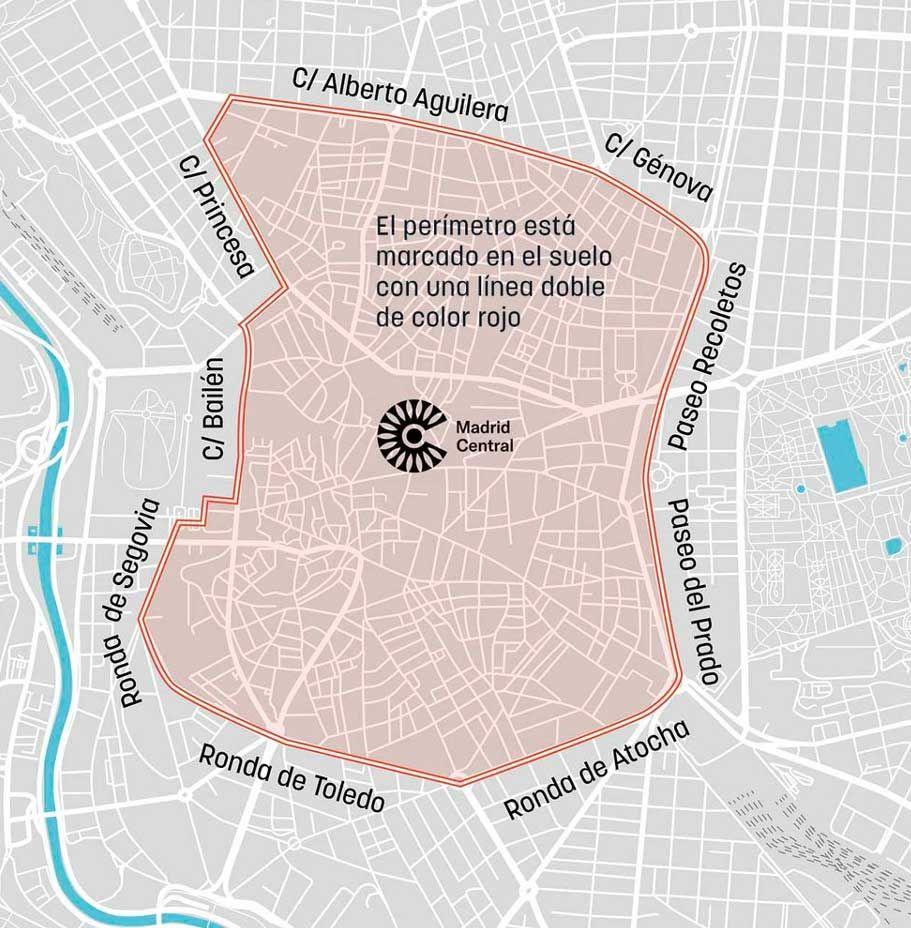 El centro de Madrid comienza a cumplir sus restricciones: cómo, cuándo y porqué