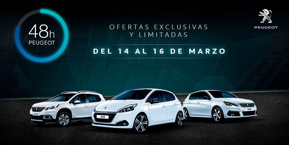 48 horas Peugeot del 14 al 16 de marzo