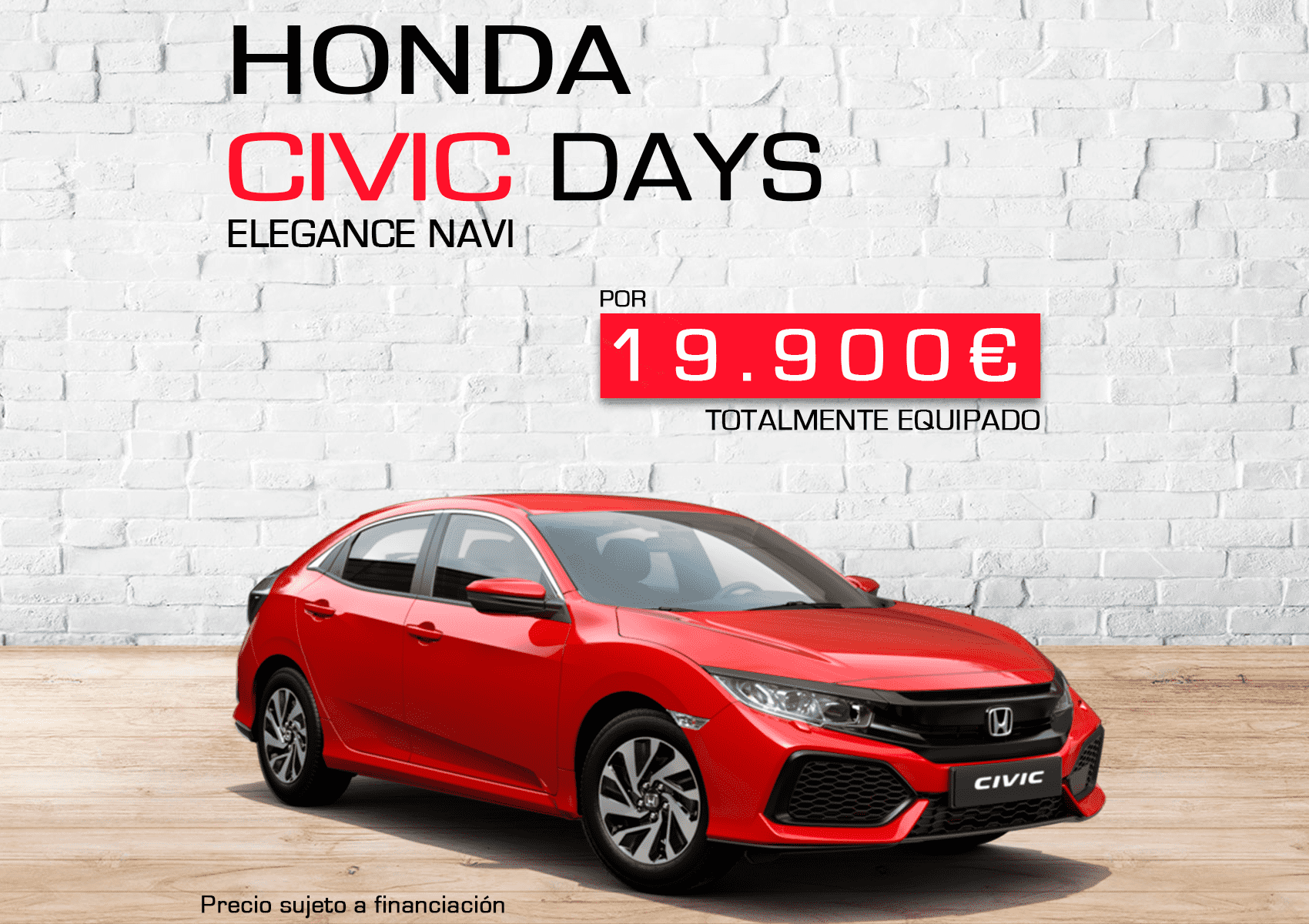 Honda Civic Days - ¡Sólo por 19.900€!