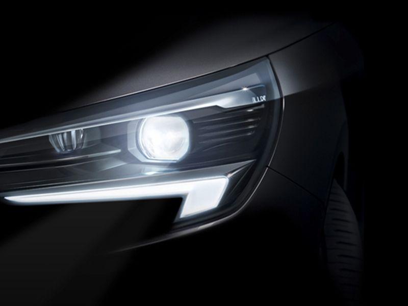 Nuevo Opel Corsa con  iluminación matricial IntelliLux LED