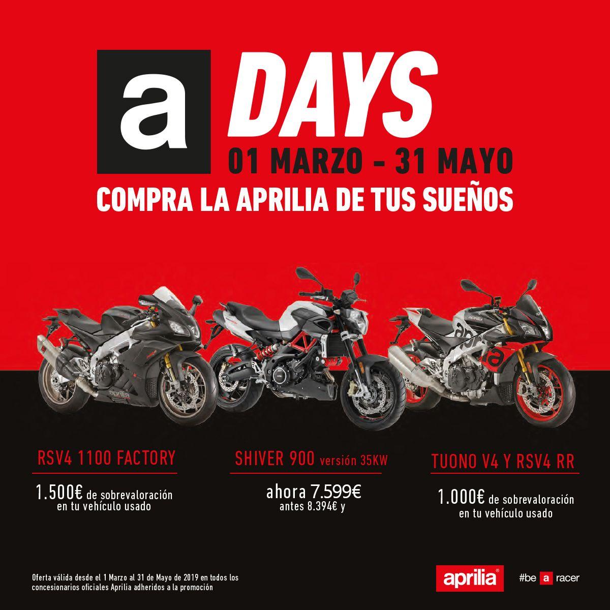 Llegan los A-Days de Aprilia