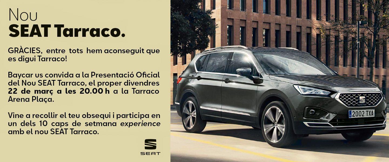 Presentación Nou SEAT Tarraco