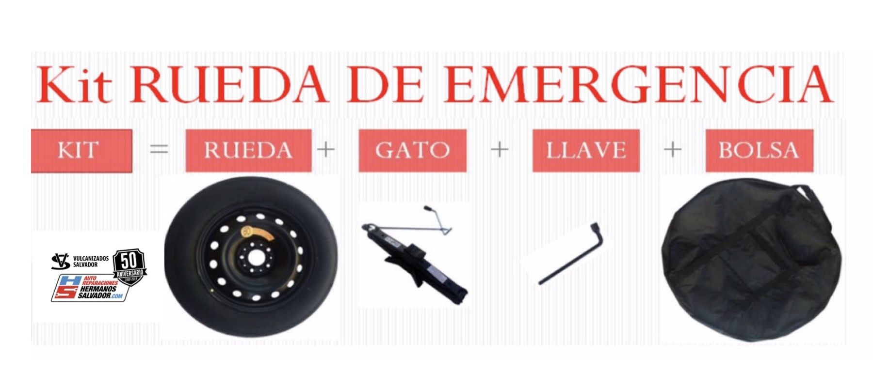 KIT RUEDA DE EMERGENCIA