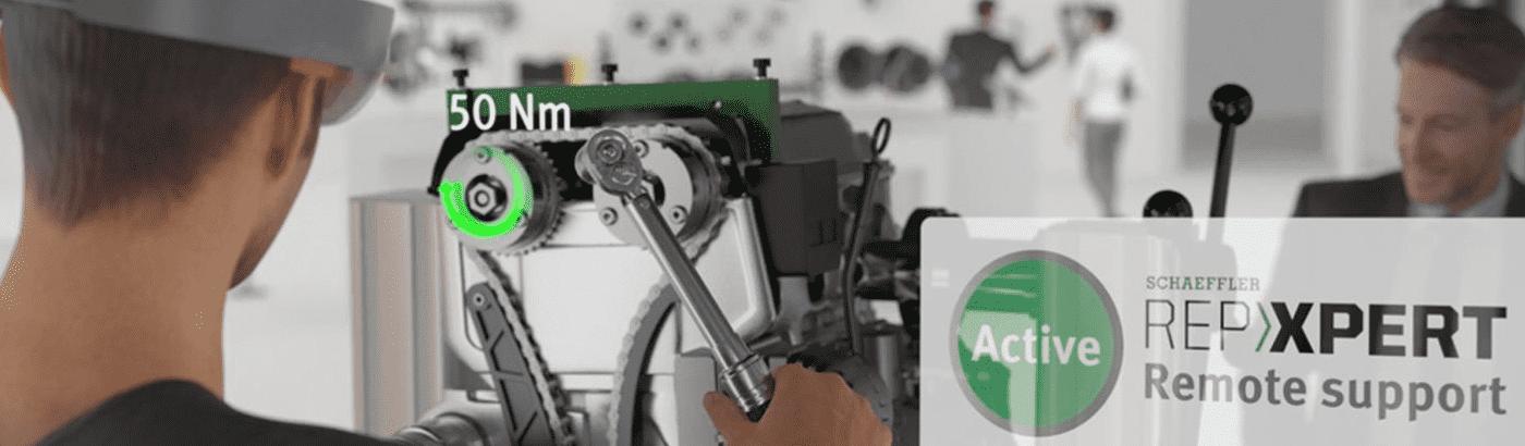 Schaeffler muestra su visión del futuro de los talleres en Motortec 2019