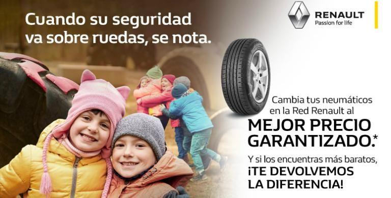 Mejor precio garantizado en neumáticos