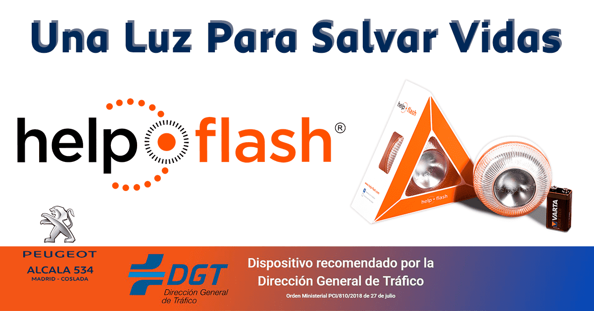 ¿Conoces Help Flash? – Una luz para salvar vidas